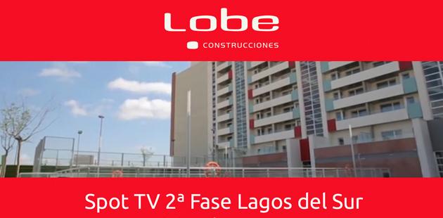 spot TV 2ª fase Lagos del Sur