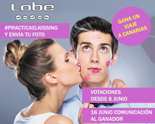 Practica el Kissing