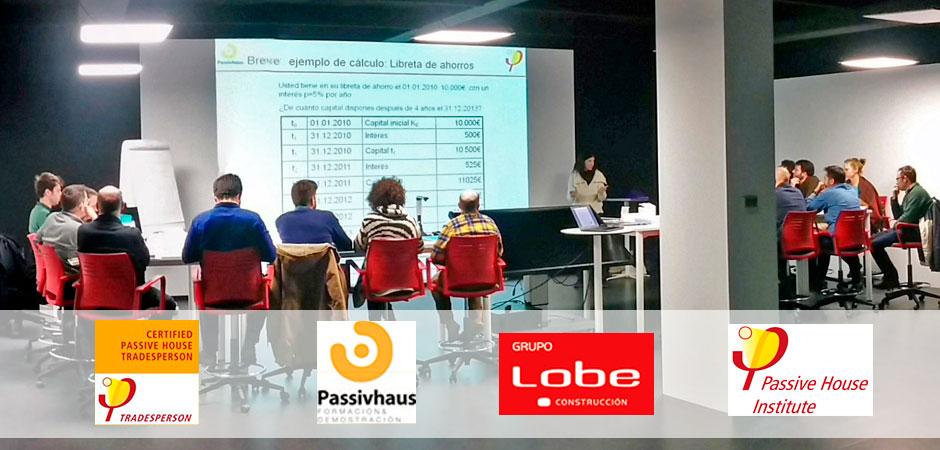 Jornada formación Passivhaus LOBE