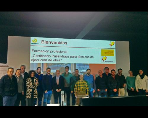 Grupo Jornada Passivhaus formación