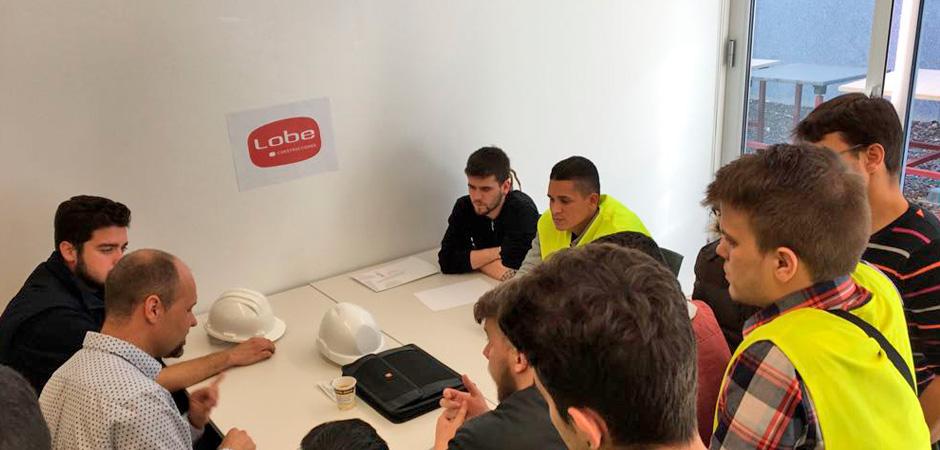 Estudiantes empresas FLC Aragón
