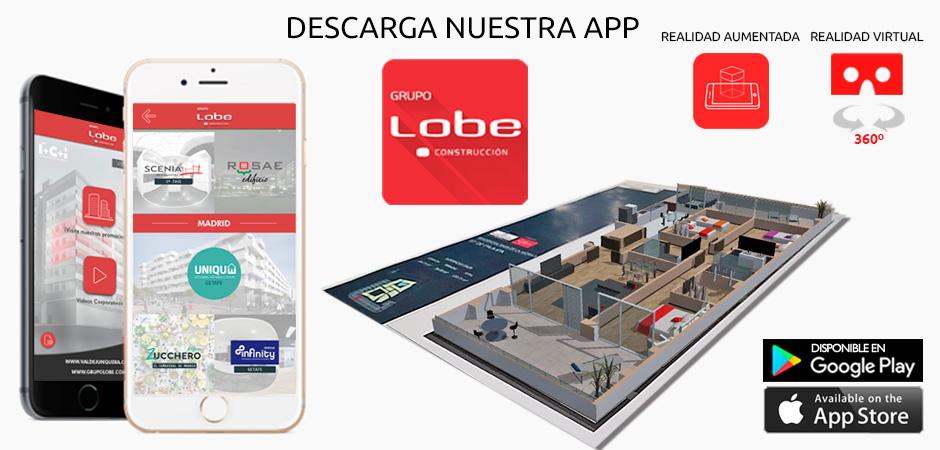 Actualización app LOBE