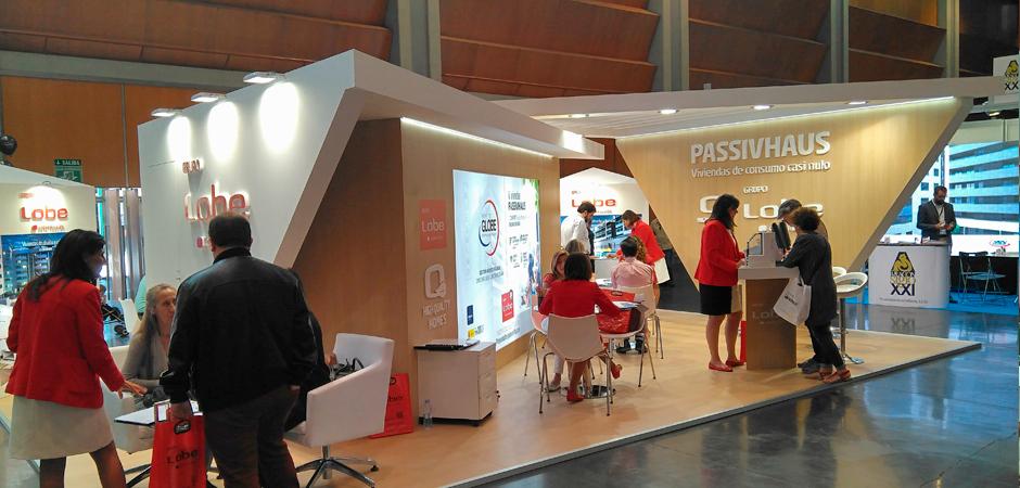 Feria Vivienda Fusión stand