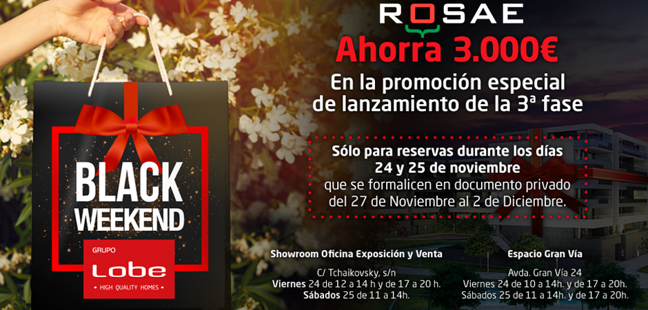condiciones Black Weekend