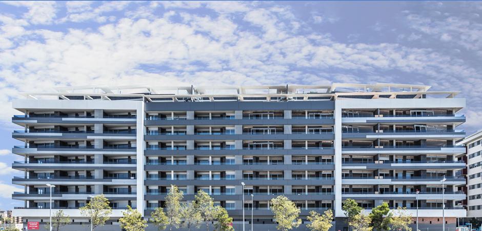 Edificio Platea de 110 viviendas de Calif. Energética A recientemente entregado a sus propietarios