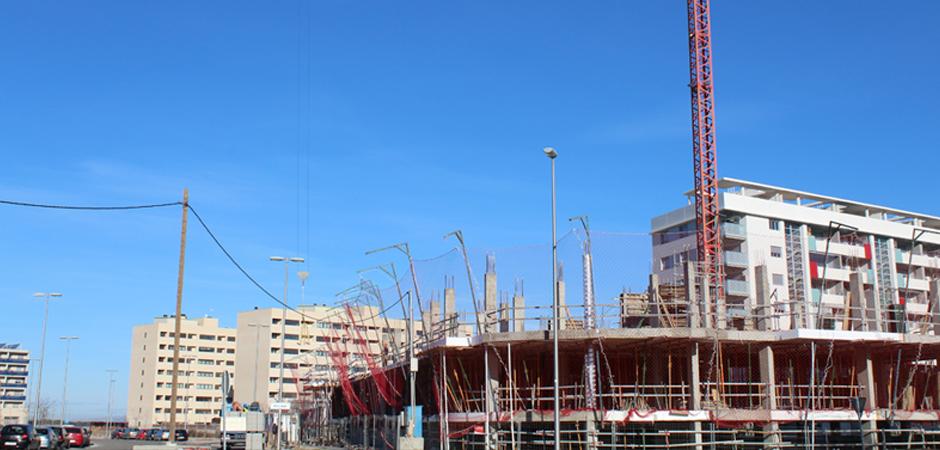 Obras 4ª Fase Lagos del Sur Zaragoza