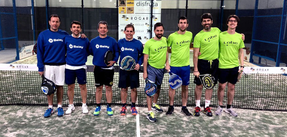 Torneo Pádel Heraldo equipo LOBE