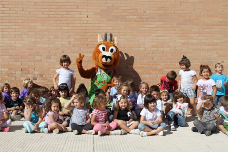 Sarry nueva mascota Lobe Huesca
