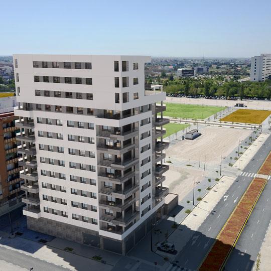 Imagen de la noticia sobre Licencia de obras del Edificio Adagio en Valencia