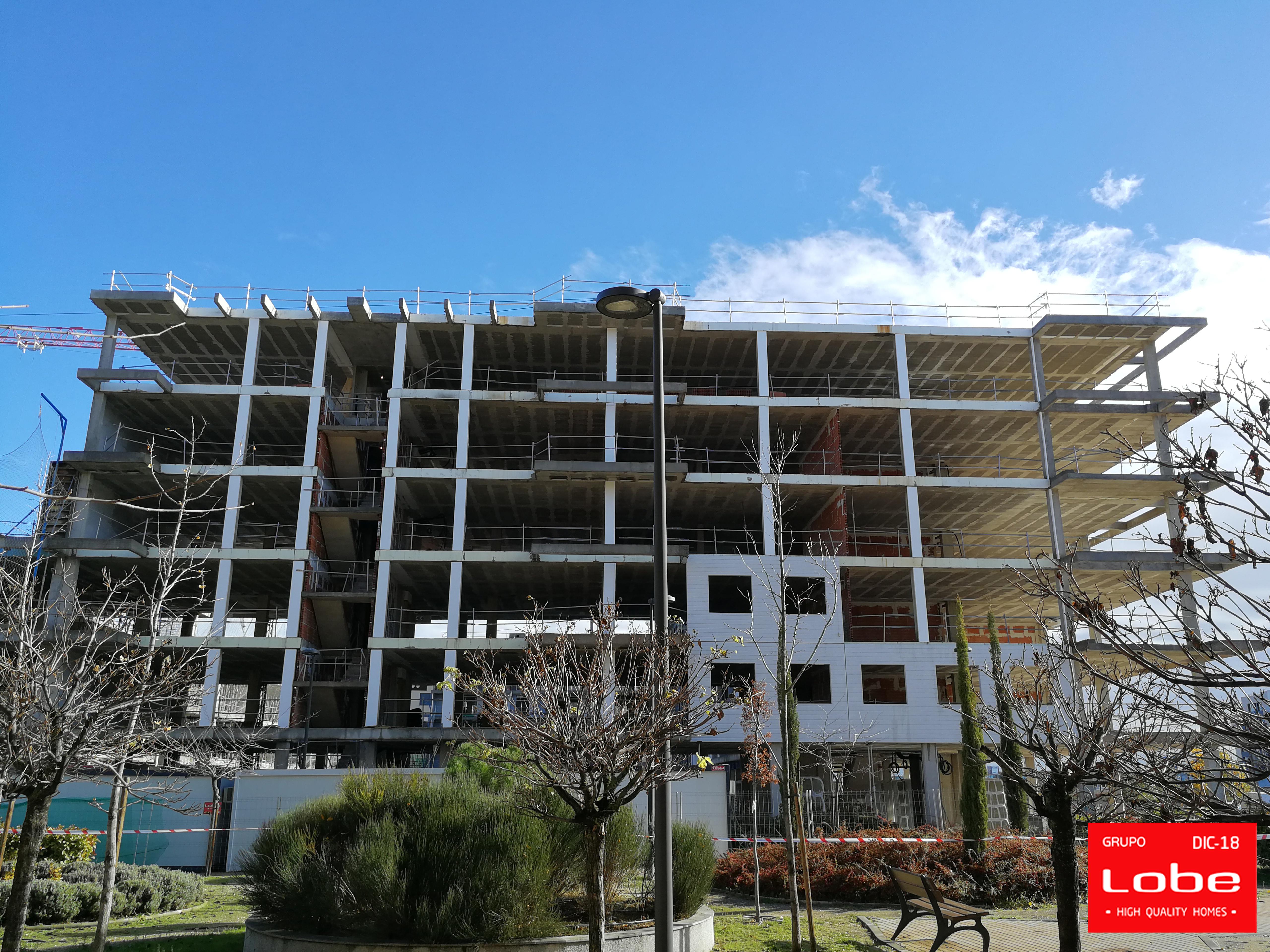 Imagen de la noticia sobre Avance de las obras en Madrid. Edificio Infinity y Zucchero