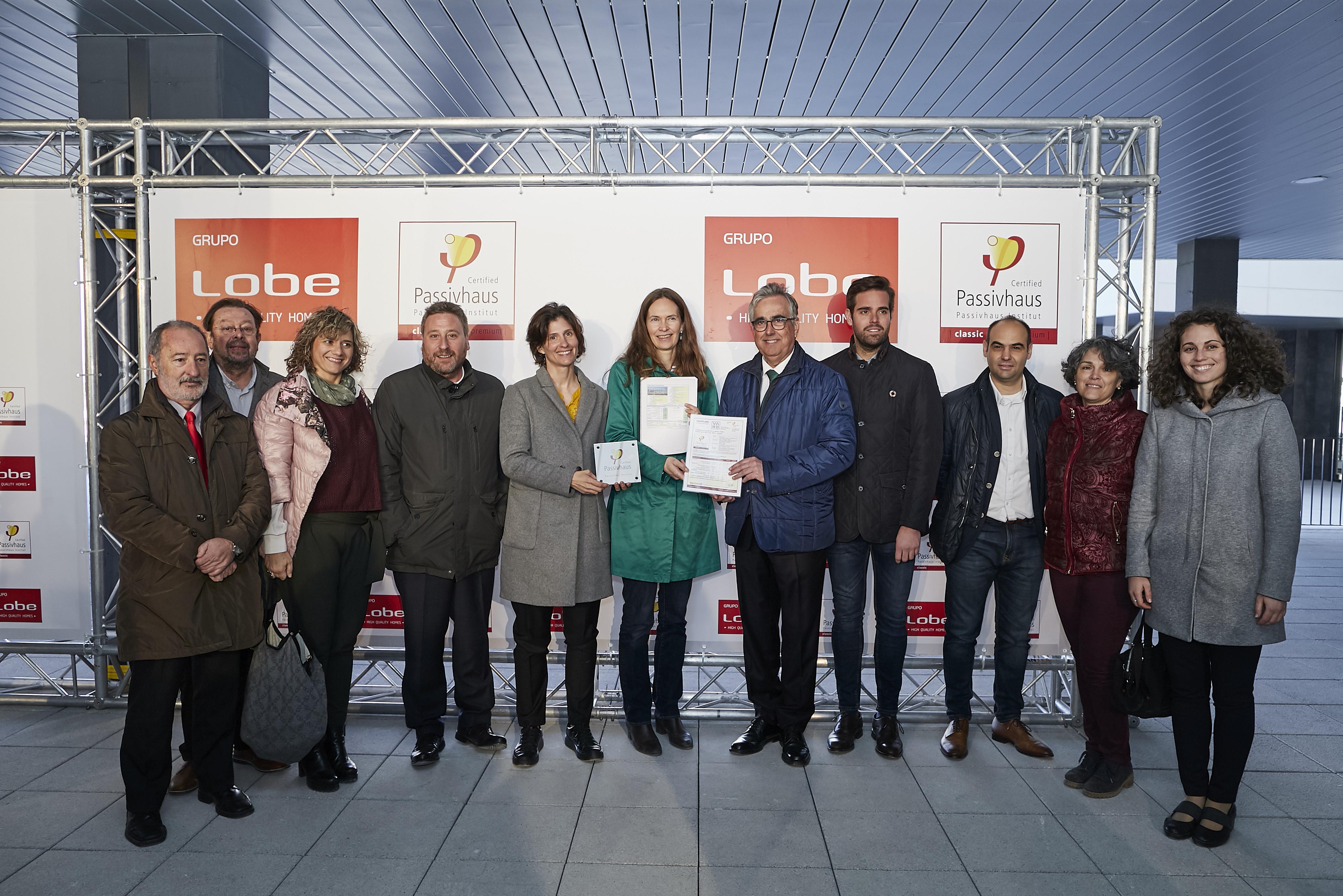 Imagen de la noticia sobre Certificación oficial Passivhaus Residencial Basa de la Mora I