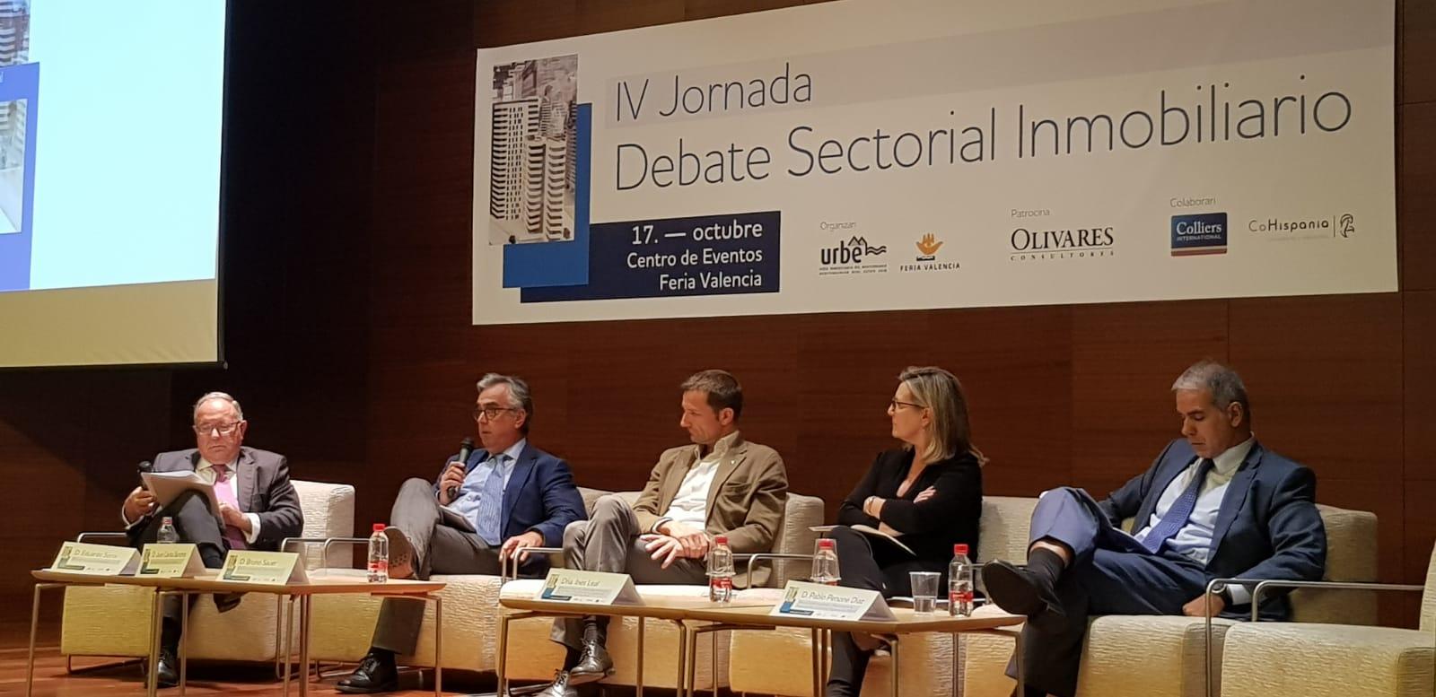 Imagen de la noticia sobre IV JORNADA DE DEBATE SECTORIAL INMOBILIARIO