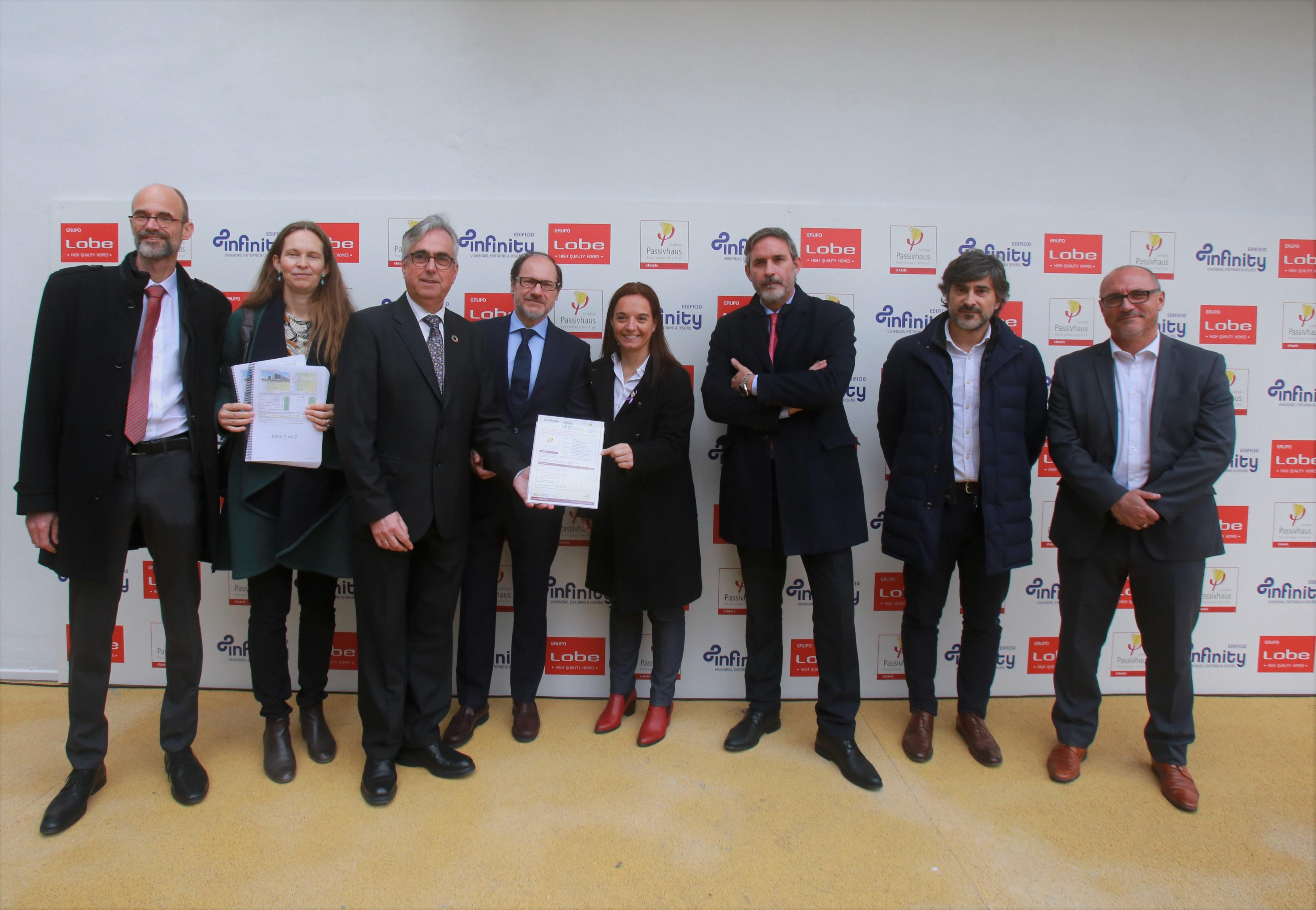 Imagen de la noticia sobre Grupo LOBE inaugura Infinity, 1º Edificio Passivhaus de protección oficial de la Comunidad de Madrid