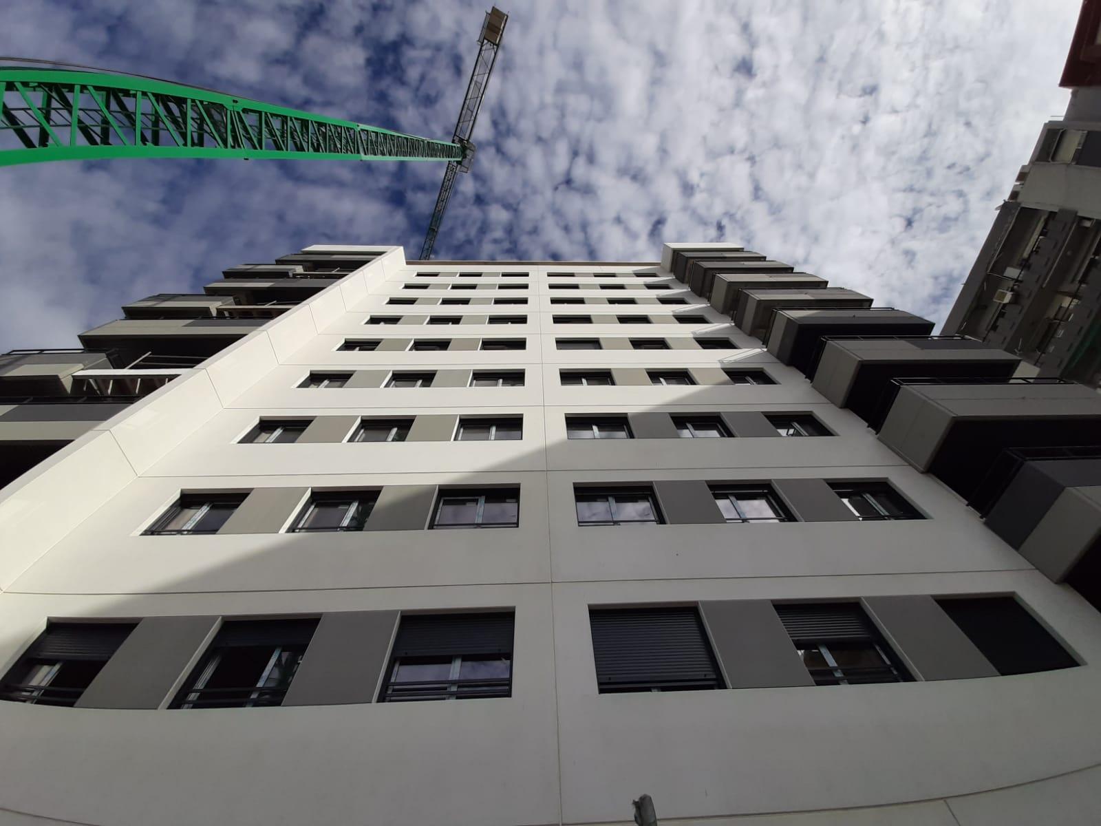 Imagen de la noticia sobre Avance de obras Edificio Adagio en Malilla (Valencia)